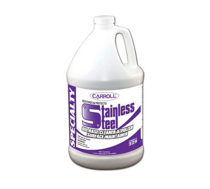 Carroll Company now Carroll CLEAN STAINLESS STEEL POLISHCLEANER
