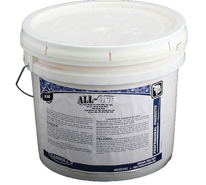 All purpose cleaners degreasers cleaner degreaser floor for Concrete floor degreaser